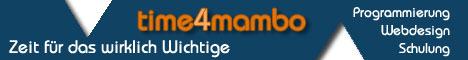 Webentwicklung time4mambo