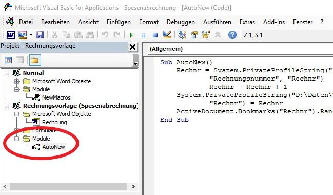 Rechnungserstellung Teil 2 Ohne Excel Makroprogrammierung