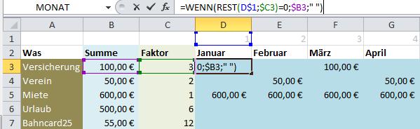 Excel-Lösungen