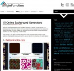 singlefunctioncom15-online-background-generators